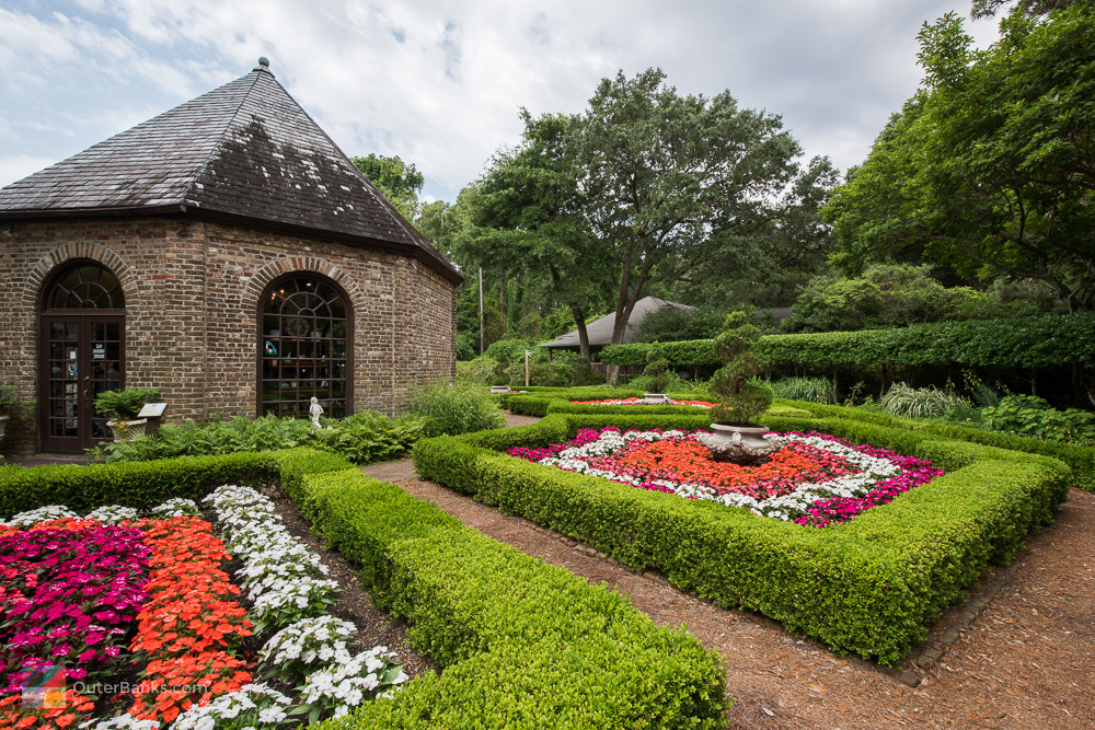 Elizabethan Gardens on Roanoke Island